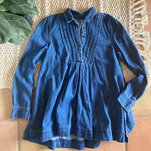 Free People Baby Blues Denim Dress